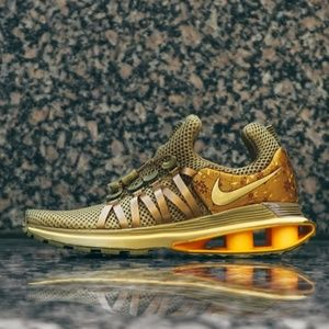 Nike Shox Gravity AQ8554-700 Metallic Gold Women's
